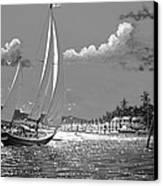 Tahitian Moon Canvas Print by Joseph   Ruff