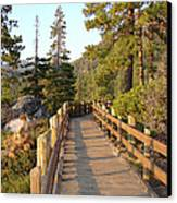 Tahoe Bridge Canvas Print by Silvie Kendall