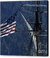 Tall Ship 3 Canvas Print by Bob Christopher