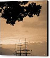 Tall Ship Gorch Fock Canvas Print