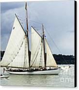 Tall Ship Tacoma Canvas Print by Bob Christopher