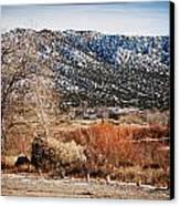 Taos Mountain View 1 Canvas Print