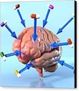 Targeted Psychological Drug Treatments Canvas Print