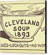 Tariff League Postcard, 1906 Canvas Print