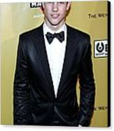 Taylor Lautner At The After-party Canvas Print by Everett