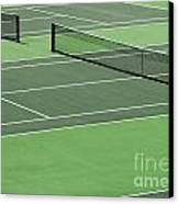 Tennis Court Canvas Print
