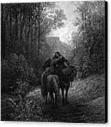 Tennyson: Guinevere Canvas Print by Granger