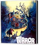 Terror House Aka Club Dead Terror At Canvas Print by Everett