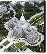 Texas Capitol Color 16 Canvas Print