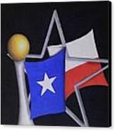 Texas Canvas Print by Jose Benavides
