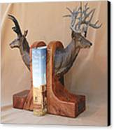 Texas Trophies Canvas Print by J P Childress
