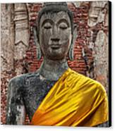 Thai Buddha Canvas Print by Adrian Evans