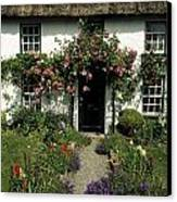 Thatched Cottage, Carlingford, Co Canvas Print by The Irish Image Collection
