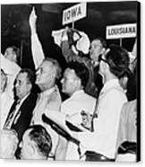 The Agitated Alabama Delegation Canvas Print by Everett