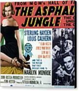 The Asphalt Jungle, Left Marilyn Monroe Canvas Print by Everett