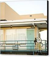The Balcony Of The Lorraine Motel Where Canvas Print