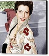 The Barefoot Contessa, Ava Gardner, 1954 Canvas Print