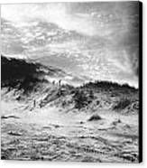 The Beach At Bridgehampton Canvas Print by Simon Marsden