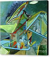 Cool Abstract Biker Print For Men Art Decor Gifts Canvas Print