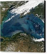The Black Sea In Eastern Russia Canvas Print by Stocktrek Images