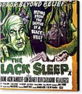 The Black Sleep, Close-up On Left Tor Canvas Print