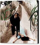The Cabinet Of Dr. Caligari, From Left Canvas Print by Everett