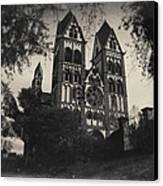 The Catholic Cathedral Of Limburg Canvas Print by Natalia Kempin