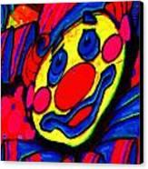 The Circus Circus Clown Canvas Print