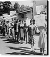 The Civil Rights Movement Began Canvas Print by Everett