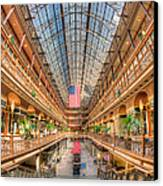 The Cleveland Arcade II Canvas Print by Clarence Holmes