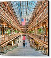 The Cleveland Arcade IIi Canvas Print by Clarence Holmes