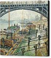 The Coal Workers Canvas Print