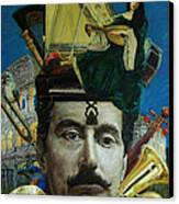 the Composer Canvas Print by Ramel Villas