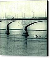 The Confederation Bridge Pei Canvas Print by Edward Fielding