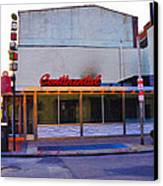 The Continental Diner Canvas Print by Bill Cannon