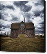 The Devil In Me Said Go Down To The Shed.... Canvas Print by Russell Styles
