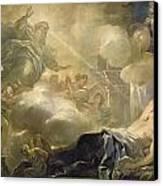 The Dream Of Solomon Canvas Print by Luca Giordano