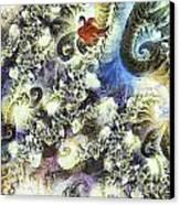 The Dream Swan Canvas Print by Odon Czintos