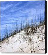 The Dune's Of Atlantic Beach Nc Canvas Print by Joan Meyland