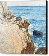 The East Headland Canvas Print by Childe Hassam