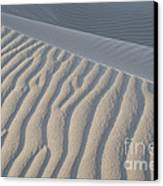 The Edge Of Sand Canvas Print by Ron Hoggard