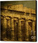 The Fall Of Athens Canvas Print by Lee Dos Santos
