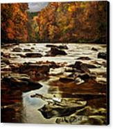 The Fall On The River Avon  Canvas Print