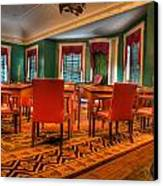 The First American Congress Senate Chamber - Independence Hall - Congress Hall -  Canvas Print