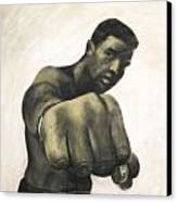 The Fist Canvas Print by L Cooper