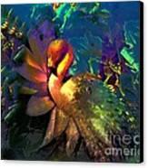 The Flamingo Of My Dreams Canvas Print by Doris Wood