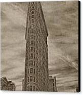 The Flat Iron Building Canvas Print