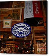 The General Store In Luckenbach Tx Canvas Print by Susanne Van Hulst