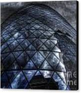 The Gherkin - Neckbreaker View Canvas Print by Yhun Suarez