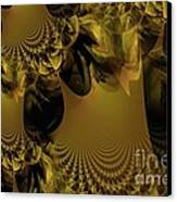 The Golden Mascarade Canvas Print by Maria Urso